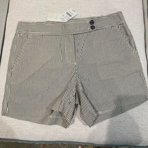 Gray Stripped Short